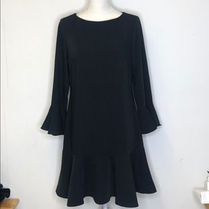 Sail to Sable Dress Black Size 8 Long Sleeve